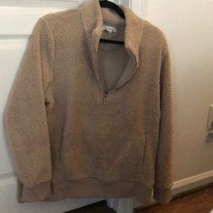 Nwot Calvin Klein half zip softest pullover !